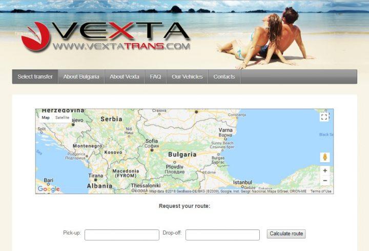Vexta Trans Online System
